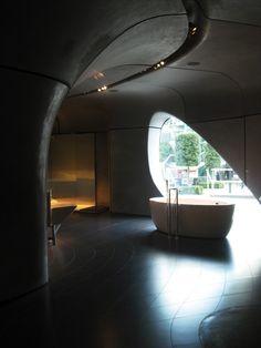 London Design Festival: Roca Gallery architectural biking tour ... London Tours, West London, London Design Festival, Zaha Hadid Architects, Going On Holiday, Architecture Design, Biking, Travel Ideas, Travel Tips