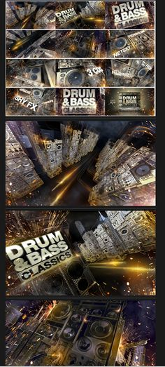 https://www.behance.net/gallery/Sony-Music-Drum-and-Bass-Campaign/10401141