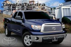 2010-13 Toyota Tundra Stainless Steel 1PC Upper Heavy Mesh Style w/3PC Lower Grille. Call for part number: 1276-0104-10. Please note that this part will not fit the Limited Edition Model.