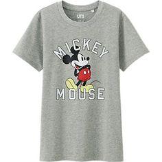 T-Shirt DISNEY PROJECT Manches Courtes FEMME