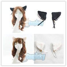 Kitten Neko Ears with Little Bell Hair Clip CP152135