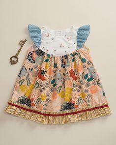 Jordan Flutter Dress - Platinum by Matilda Jane Clothing