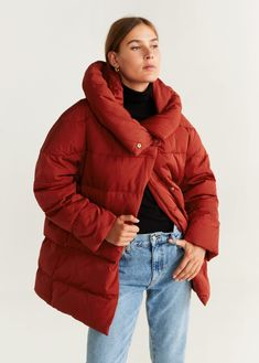 Hood quilted coat - f foQuilted coats Women | Mango United Kingdom