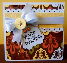 you're in my thoughts - Scrapbook.com