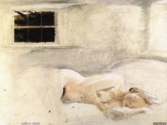 Some Helga drawings,watercolours  -   Andrew Wyeth  American  1917-2009  The Helga Pictures