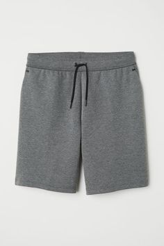 Sports shorts in thick jersey with taped details. Elasticized drawstring waistband and side pockets. Sport Shorts, Grey Shorts, Mockup, Surf, H&m Online, Drawstring Waist, Classic Style, Classic Fashion, Fashion Online