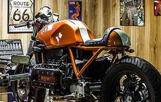 BMW bmw K100 cafe racer as Sport Touring Motorcycles in Lucca