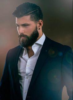Sexy Beard Styles 50 Latest Beard Styling Ideas for Swag beard style boys . Sexy Beard Styles 50 Latest Beard Styling Ideas for Swag be. Bart Styles, Sexy Beard, Thick Beard, Man Beard, Beard Suit, Beard Lover, Beard Growth, Hair Growth, Awesome Beards
