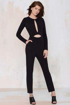 Nasty Gal Erina Cutout Jumpsuit - Clothes