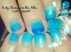Sky blue ombre for my special decorating  client.  Let's see how these grow with a Gel ll Manicure.    #gelllmanicure #skyblue #magpieglitter  #ombre #iris #donatingtocharity #sky #nomaintenancerequired #vera #classy&fabulous #beautifulnails #secretofhealthynails #nailsecret #nailart #nailledit #nails #longlasting #21dayswear #naildesign #nailstagram  @gel_two @magpie_beauty