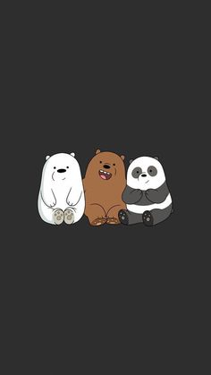 We Bear Bears wallpapers iPhone 23 high-definition ♪-We Bare Bears . Cute Panda Wallpaper, Cartoon Wallpaper Iphone, Disney Phone Wallpaper, Bear Wallpaper, Kawaii Wallpaper, Cute Wallpaper Backgrounds, Galaxy Wallpaper, Wallpaper Quotes, Walpaper Iphone