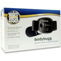 The Biggest Loser bodybugg ® System - Monitor how much you exercise, manage how many calories you eat, then track if you are burning more calories that you are consuming