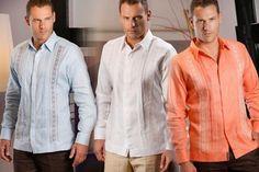 Variedad, diseño, estilo...Guayaberas CAMASHA