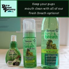 Come in and check out our dental health selection! #PawprintPantryCT #DentalHealth #SupportLocal #FreshBreath #Pets