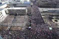 chicago.jpg  Pictures From Women's Marches on Every Continent Crowds in hundreds of cities around the world gathered Saturday in conjunction with the Women's March on Washington. UPDATED JAN. 22, 2017