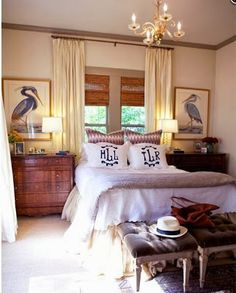 monday bedroom makeover: lighting!oyster shell style for sundaymonday bedroom makeover: headboard and new art!saturday sweetgrass baskets- Shell and Chinoiserie