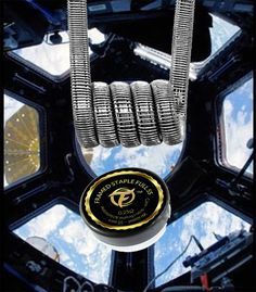 Der Framed Stape Full Stainless Steel Coil schafft Abhilfe bei durchgebrannten Coils.