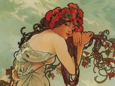 Mucha (reference for my sleeve in progress)