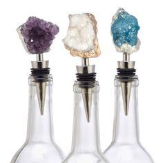 Geode Bottle Stopper from Z Gallerie