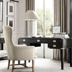 Desk military#eichholtz collection