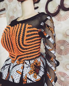 Fascinating ankara blouse for the ladies - DarlingNaija Ankara Tops, Ankara Blouse, Ankara Skirt, African Fashion Ankara, Latest African Fashion Dresses, African Print Fashion, African Skirt, African Prom Dresses, African Dresses For Women