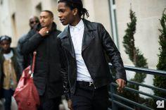 ASAP Rocky Paris Fashion Week