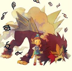 #pokemon #entei #fanart