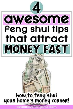 Feng Shui And Money, How To Feng Shui Your Home, Feng Shui Tips, Feng Shui Wealth Corner, Fen Shui, How Do You Work, Chi Energy, Feng Shui House, Learn Chinese