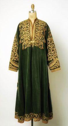 Afghan dress - velvet