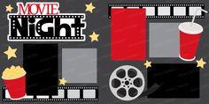 Movie Night by EasyScrapKits on Etsy