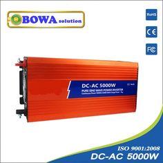 1368.00$  Buy here - http://aliuma.worldwells.pw/go.php?t=2031997762 - 5000W Pure Sine Wave Power Inverter 1368.00$