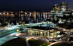 Downtown Waterfront West Palm Beach, only a few miles from my house!