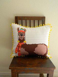 DIY cute Llama pillow