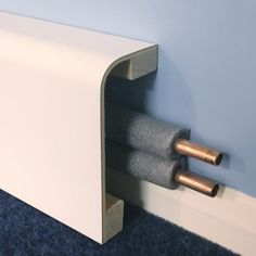 Pipe Boxing Versa - Thick x - Length - 20036173 - Heating and plumbing Boxing In Pipes Ideas, Hide Pipes, Plastic Moulding, Heating And Plumbing, Skirting Boards, Downstairs Toilet, Radiant Heat, Baseboards, Home Renovation