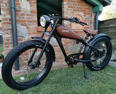 Gas Powered Bicycle, Enfield Motorcycle, Specialized Bikes, Spin Bikes, Chopper Bike, Motorcycle Types, Bike Wheel, Bike Style, Bike Design