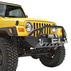 E-Autogrilles-87-06-Jeep-Wrangler-YJTJ-R2-Front-Bumper-51-0037-0