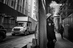 "(@ignasirodriguez) on Instagram: ""From New york Street Photography Serie: Portrait of a stressed ironworker man smoking an electronic…"" #manhattan #newyork #leica #streetphotography"