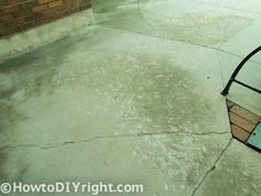 How To Restore Concrete Patio : Easy Steps ! I Was Introduced To Rust Oleum
