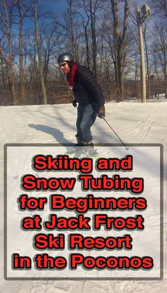 Jack Frost Ski Resort in the Pocono Mountains of Pennsylvania is the perfect place to learn to ski or go snow tubing. Find out more here: http://uncoveringpa.com/jack-frost-ski-resort