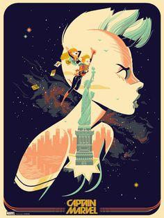 Captain Marvel by Glen Brogan