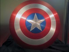 How to Make A Flying Cardboard Captain America Shield