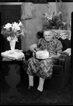 . Old Time Photos, Grow Old With Me, Happy Birthday, Birthday Cake, Vintage Birthday, Good Ole, Birthday Photos, Flower Girl Dresses, Wedding Dresses