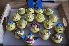 The Simpsons cupcakes...