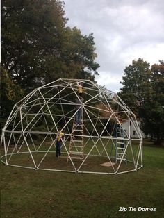 Easy Steps To Building Your Chicken Coop Geodesic Dome Kit, Geodesic Dome Greenhouse, Small Greenhouse, Greenhouse Ideas, Greenhouse Kits For Sale, Hydroponic Supplies, Greenhouse Supplies, Growing Plants Indoors, Grow Lights For Plants