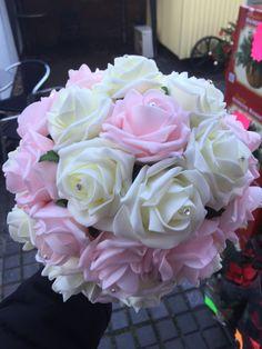 Foam rose bouquet