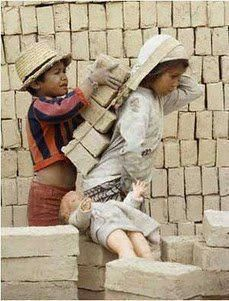 chores... where is the ban on Child labor?!! How will they survive? What will they eat if they do not work?!
