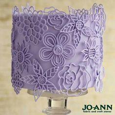 Royal icing cake: