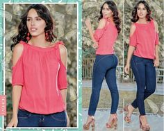 Reposting @bluebells_ec: Blusa color coral  Tallas: S, M, L, XL Jean Color azul Tallas: S M L #fashion #styles #stylish #lover #tigesforlikes #me #phootooftheday #cute #nails #hair #beauty #beautifull #instagoods #instafashion #girly #pretty#pink #eyes #girl #girls #drees #modelos #models #shoes #heels #outfits #guayaquil #ecuador🇪🇨 #bluebells_ec