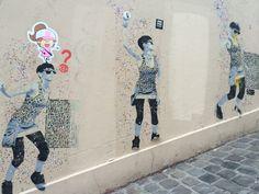 Street art paris Montmatre