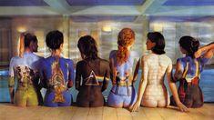 En 1997, le label EMI décide de reéditer les œuvres les plus réputées du groupe.  Pink Floyd.Pour ce projet appelé Back Catalogue, Storm Thorgerson imagine une mise en scène des couvertures de Atom Heart Mother(1970), Relics (compilation   1971),Dark Side Of The Moon (1973), Wish You Were Here (1975),The Wall (1979) et Animals (1977)... sur les dos de six femmes dénudées.